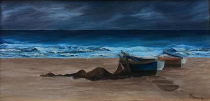 Anna Maria Ferrara, pittura