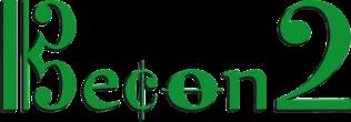 Becon2 - logo no sfondo