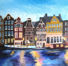 Alies de Groot, pittura